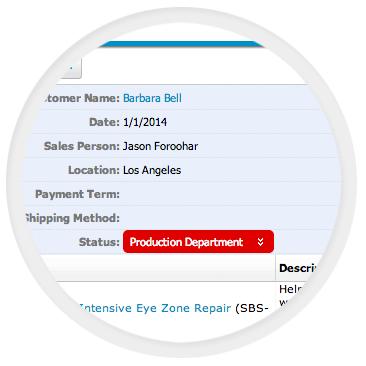 Custom Order Management