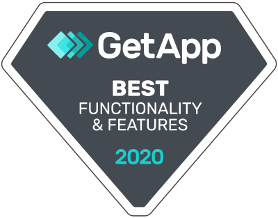 2020 Best Functionality & Features by GetApp