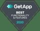 GetApp Best Functionality 2020