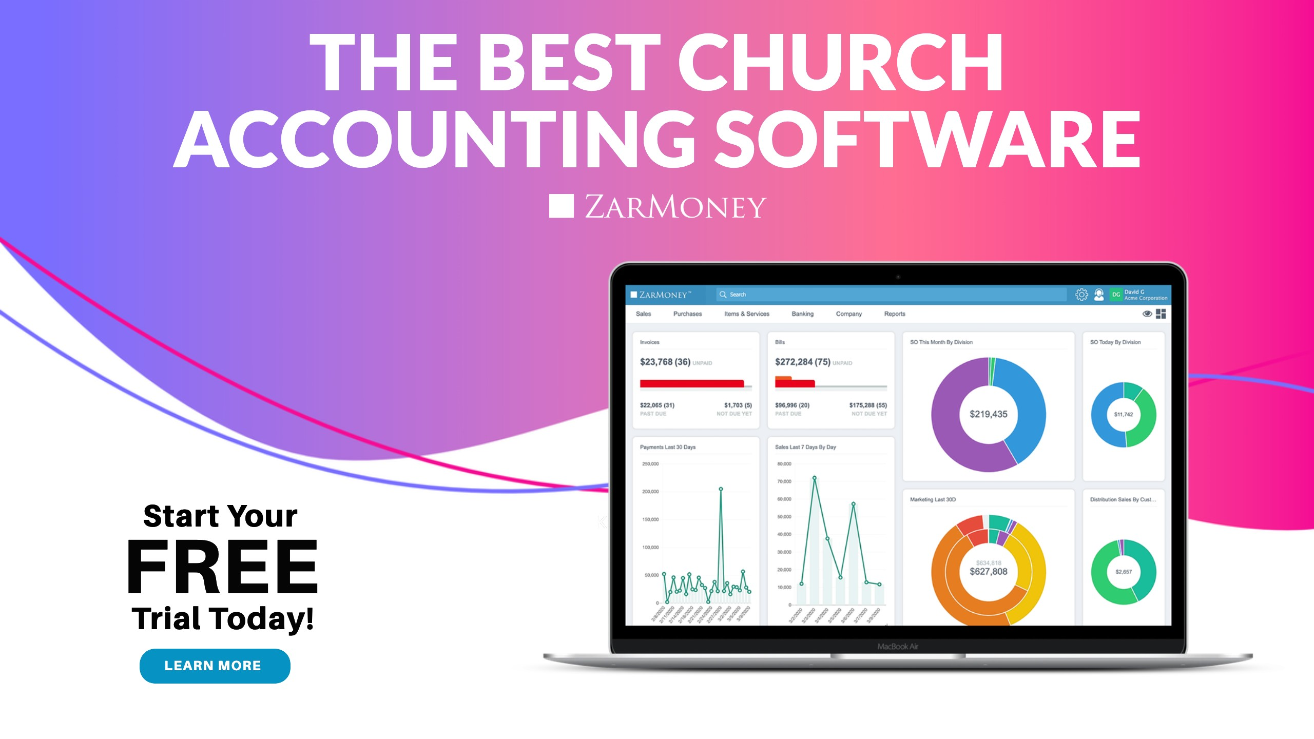 CTA New Blog_ Choosing the Best Church Accounting Software Churches are places to gather and come together to achieve a purpose and help their surrounding community. While it may be the last thing on their mind, a church's accounting soft
