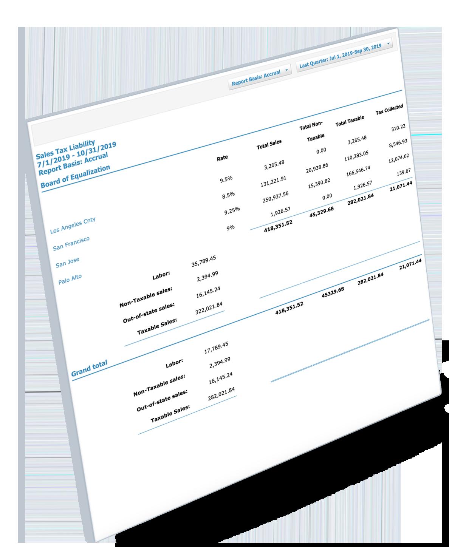 Sales-Tax-Report