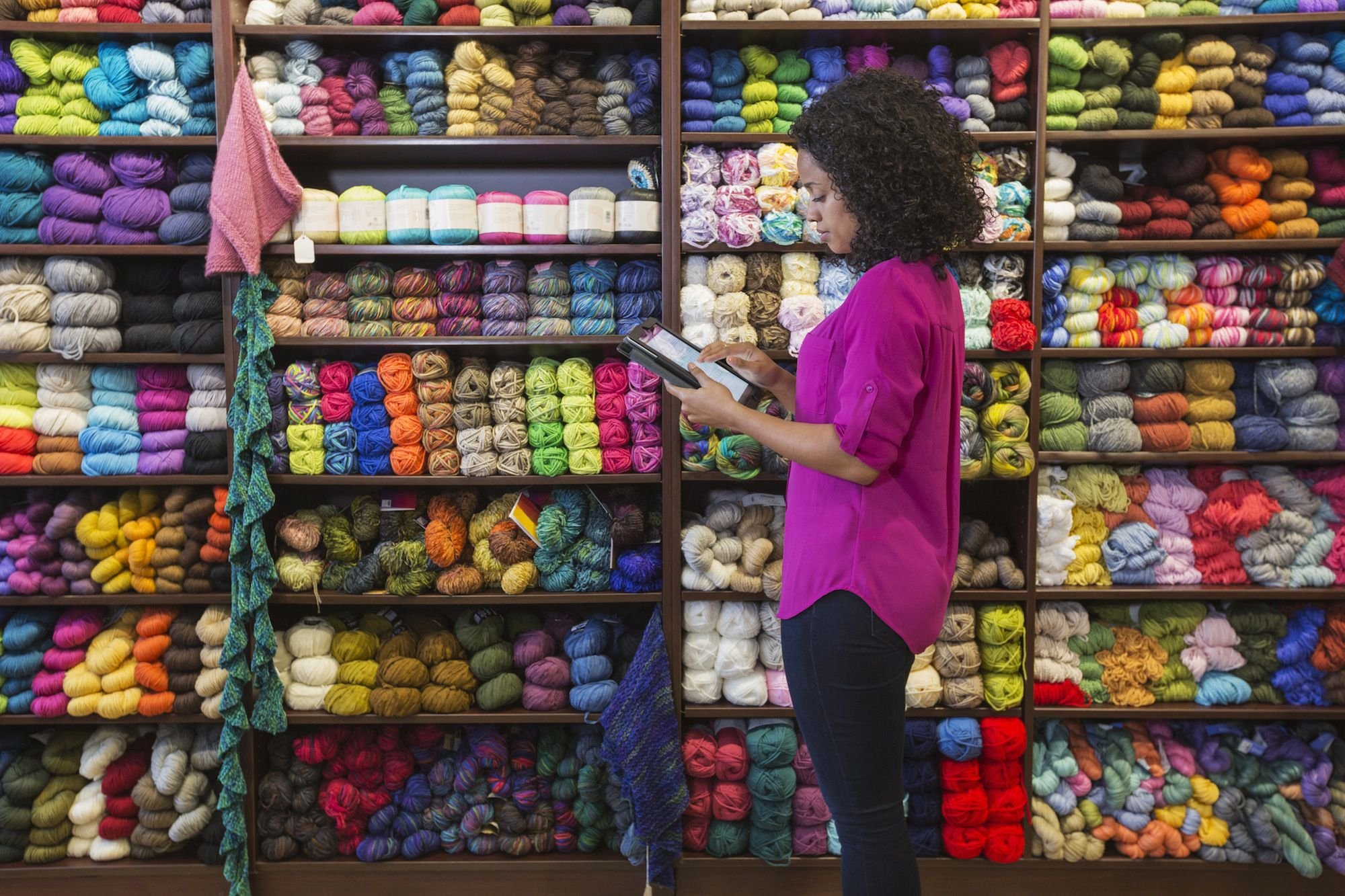 Inventory - Yarn shop